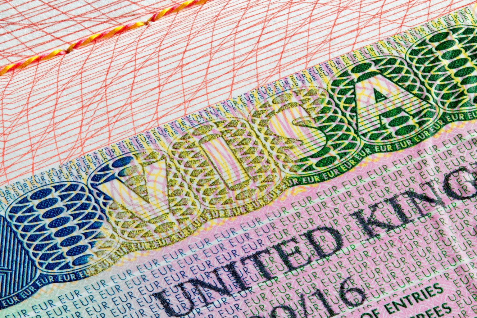 UK visa work